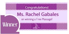 Free Massage Winner