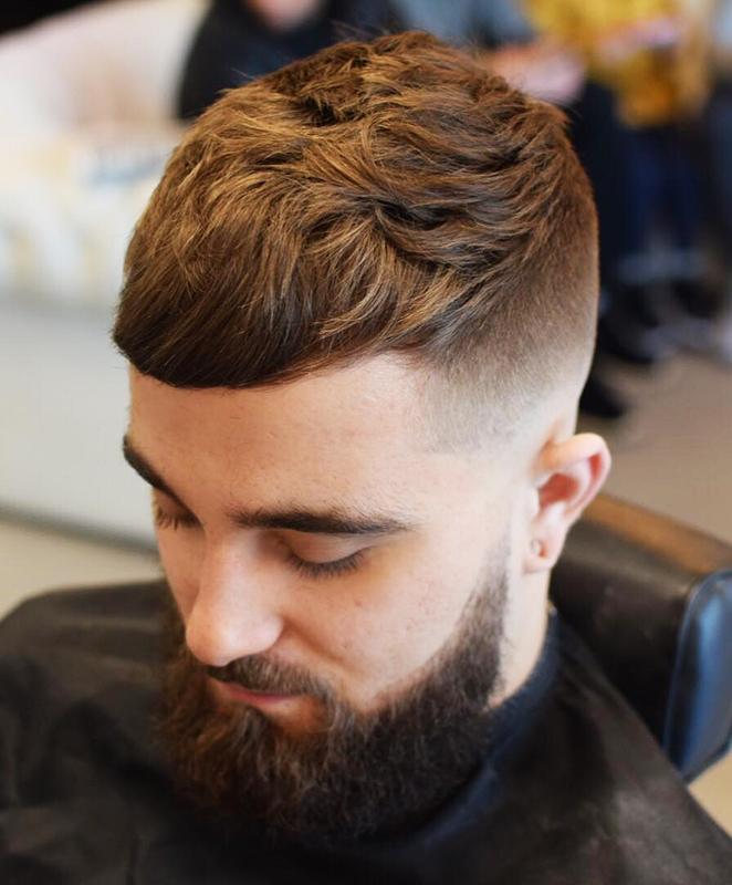 Cropped Haircut & High Fade